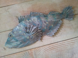 Cod Fish Wall Plaque